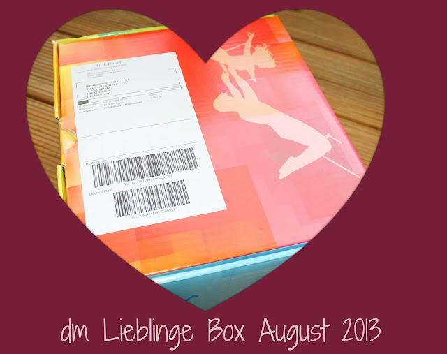 dm Lieblinge Box August 2013 unwrapped