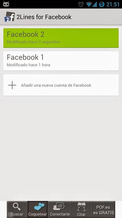 2 lineas para Facebook - 1.0.1 - ★ ROOT