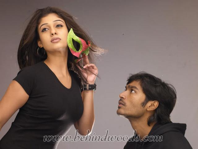 Dhanush & Nayanthara 3