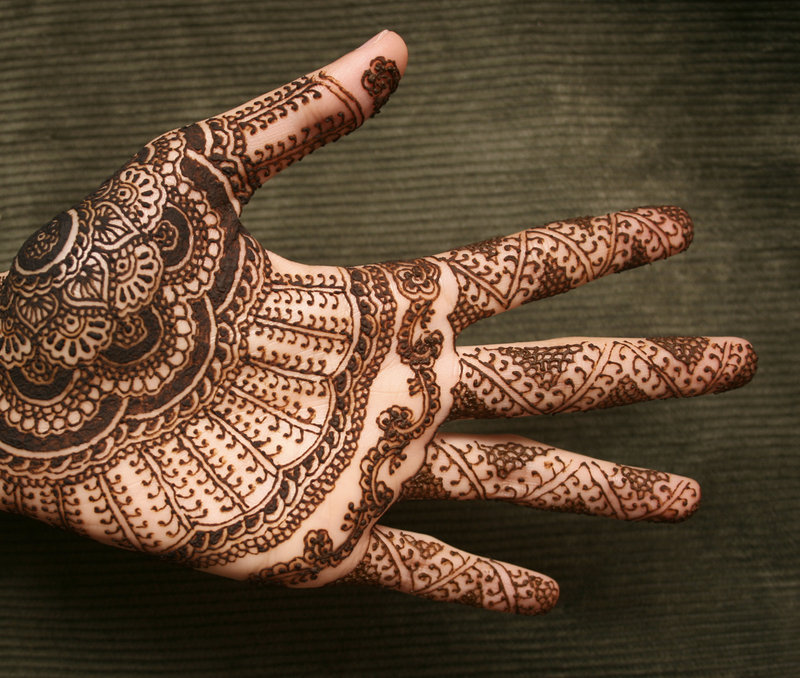 Henna Hand Tattoo Designs