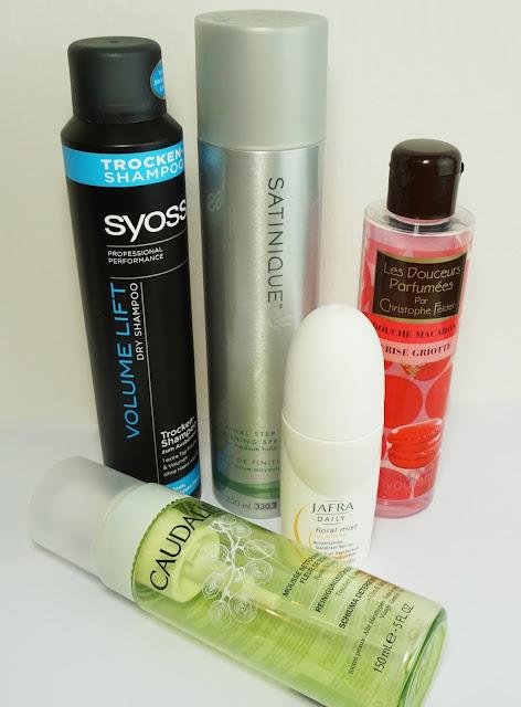 Aufgebrauchte Kosmetik - April 2015 Syoss, Amway, JAFRA, Caudalie