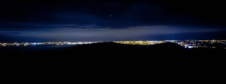 Dublin Night View Dublin at Night