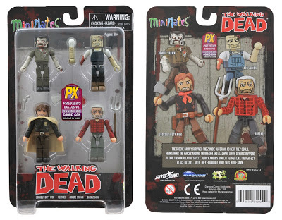 The Walking Dead Minimates - ComicCon 2013