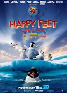 Carátula Happy Feet 2: El pingüino pelicula dvdrip latino