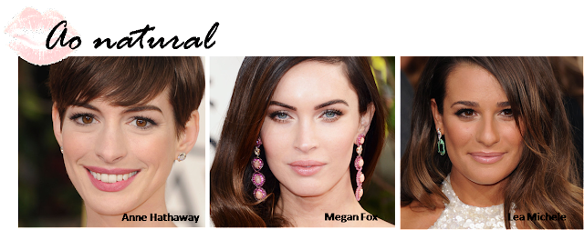 as melhores maquiagens do globo de ouro 2013