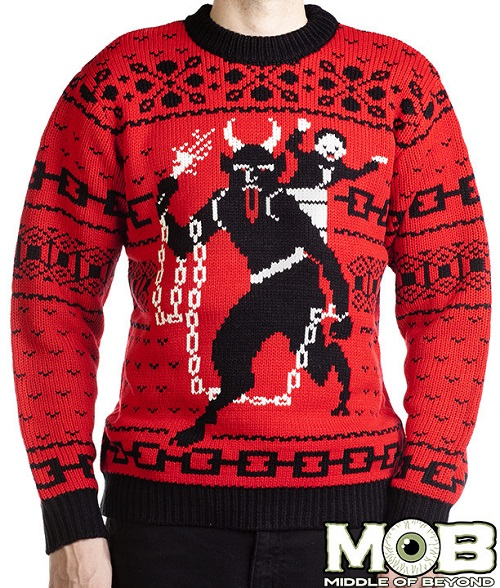 The Spooky Vegan: Ugly Creepmas Sweaters for the Wicked