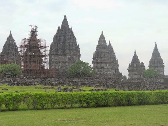 Yogyakarta the Prambanan and the Ratu Boko