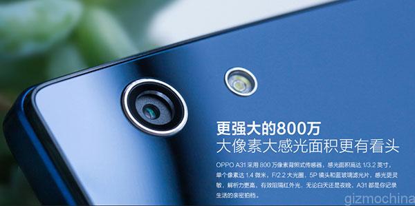 Kamera Oppo A31