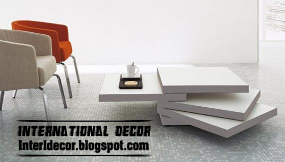Modern Coffee Table Designs for Decor Accessories