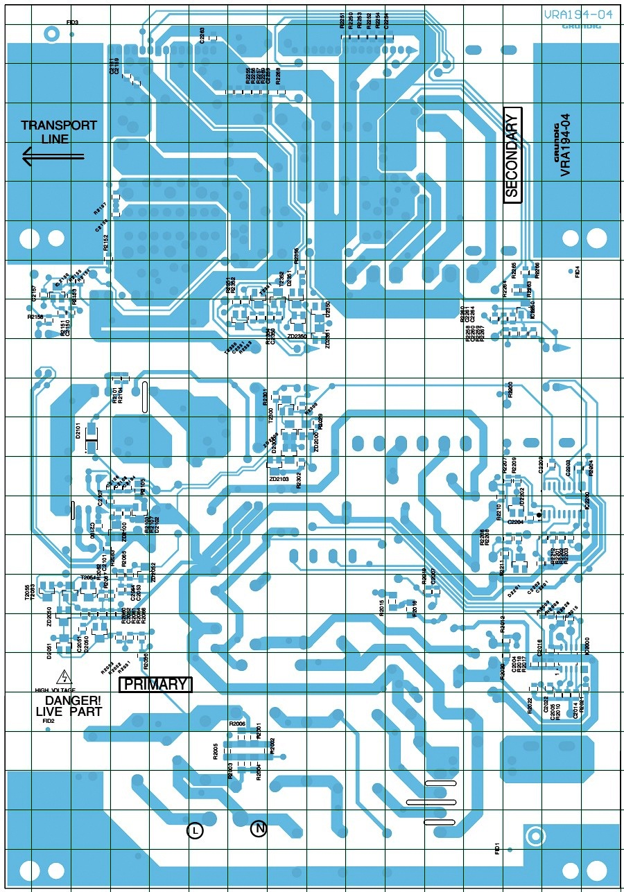 GRUNDIG LCD TV Power Supply VRA194-04 SMPS CIRCUIT DIAGRAM | Electro ...