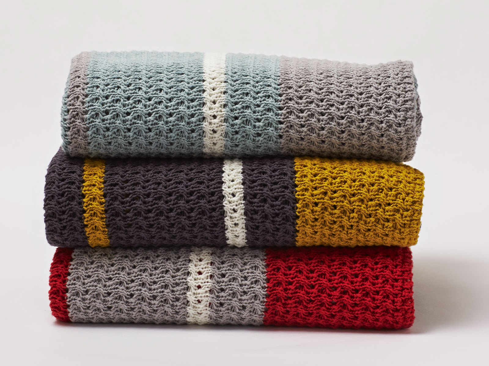 Chunky Knit Cotton Blanket