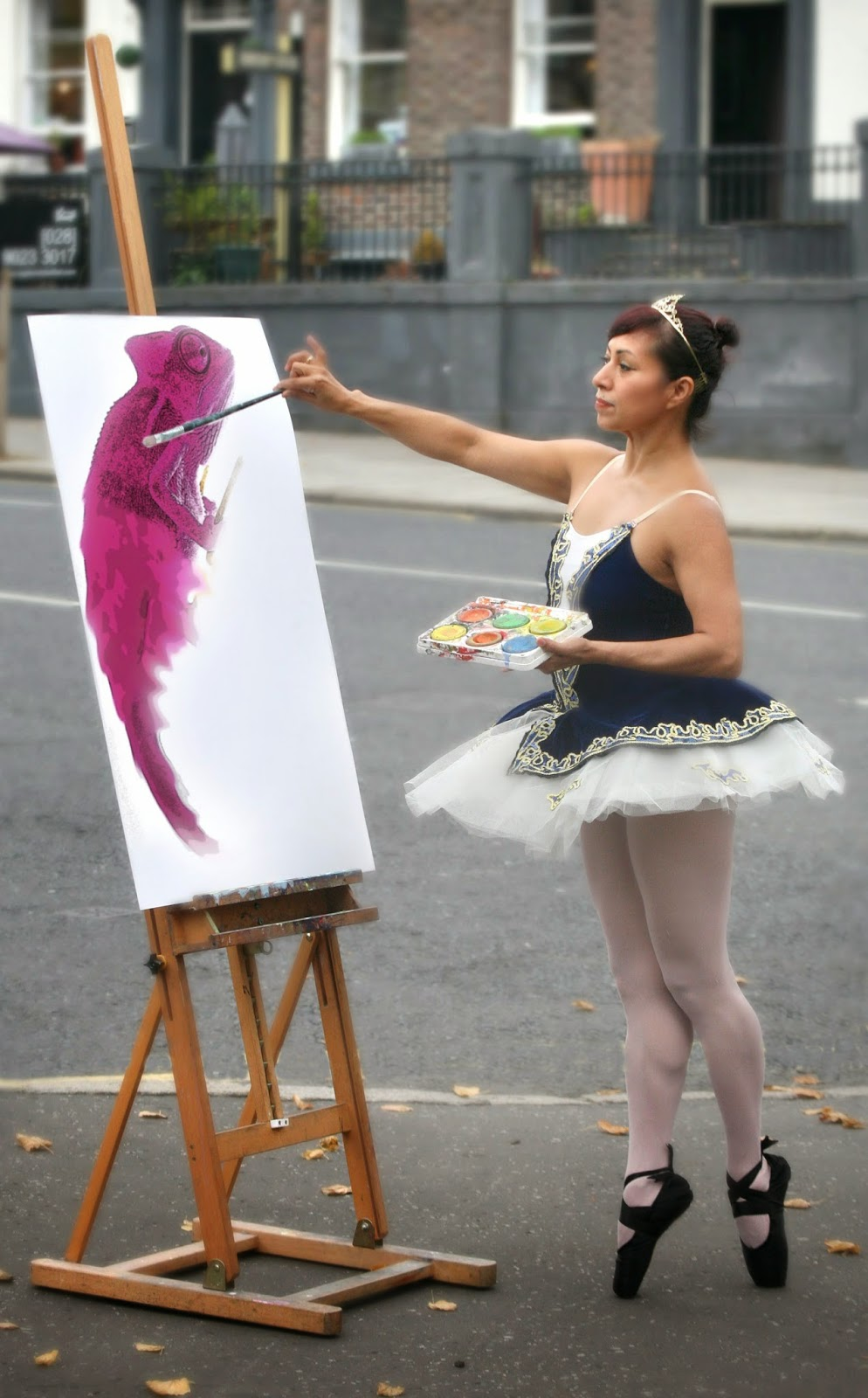 Mayte Segura, a dance tutor at the Crescent Arts Centre embraces the Try  Something New campaign and tries her hand at painting. The Crescent Arts   Centre September – December terms starts soon and with over 250 classes from   as little as £10 there is no reason not to try something new. More information is   available at www.crescentarts.org