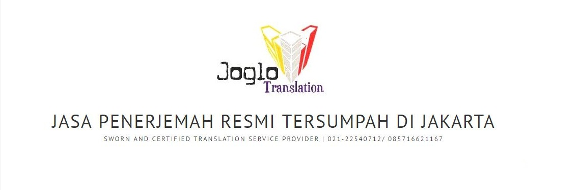 JASA PENERJEMAH TERSUMPAH RESMI JAKARTA TANGERANG CIKARANG