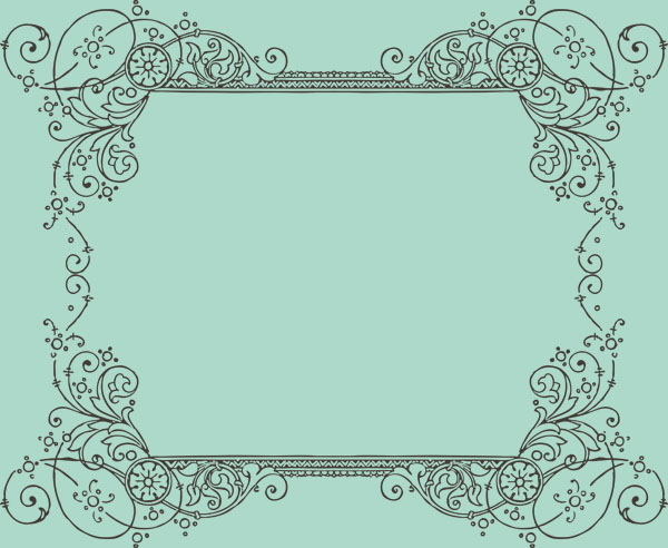 More Free Clipart - Vintage Frames Borders & Ornaments
