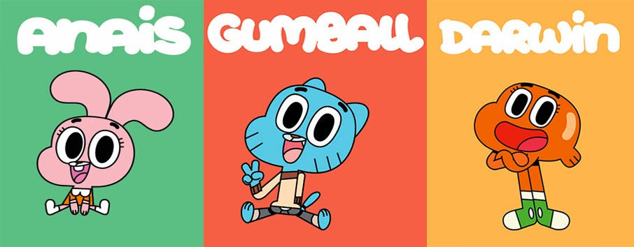 The Amazing World Of Gumball And All Related Characters Elements Are Trademarks Cartoon Network
