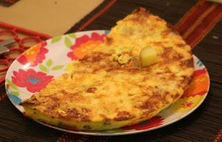 Superb duck egg omelette