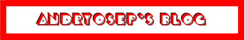 Andryosep's Blog