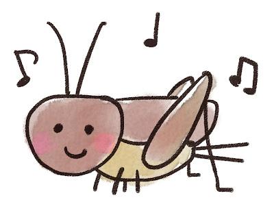 コオロギのイラスト(虫)