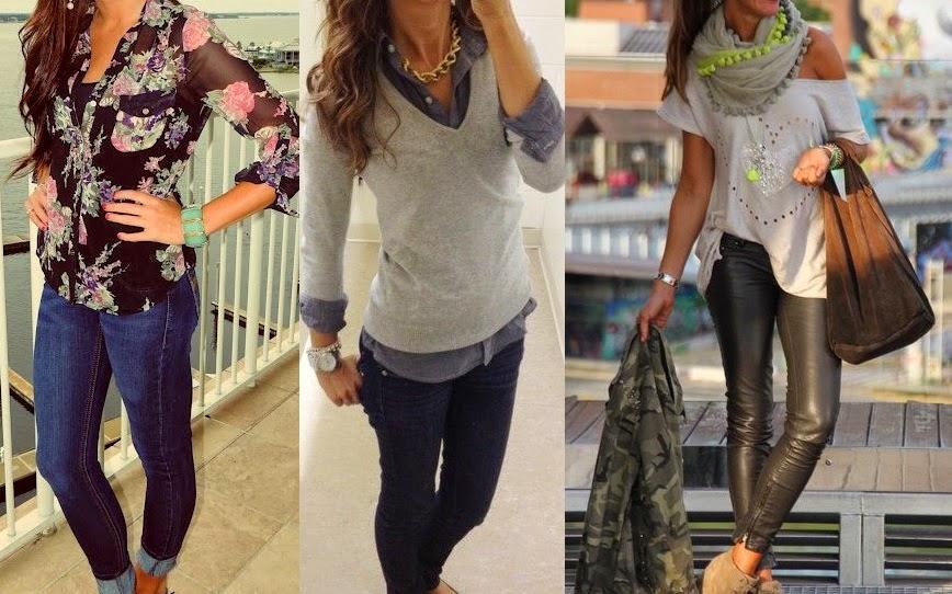 Formas de vestir casual para mujeres