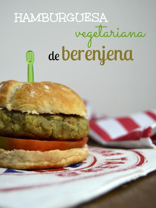 Hamburguesas vegetarianas de berenjena - Hamburguesa de verduras ...
