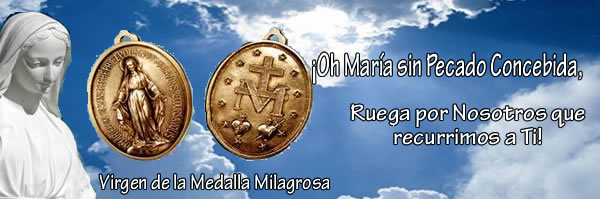 Santa Catalina Labouré y nuestra Virgen de la Medalla Milagrosa