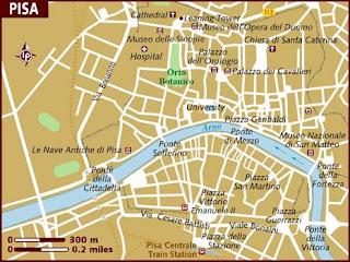 Mappa Politica di Pisa
