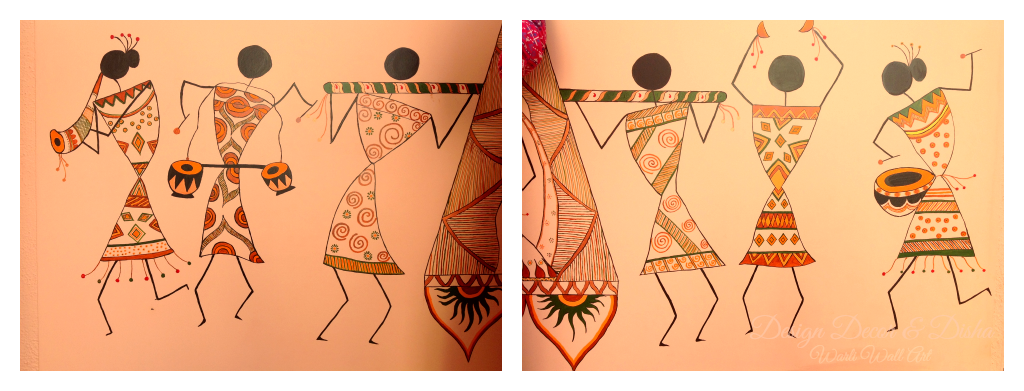 Warli Painting On Wall