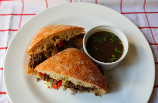 "Chicago Italian Beef ""Stew Meat Edition"" – The Deep Dish Pizza of Sandwiches"
