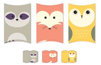 Folded Friends Designer Template - Digital Download