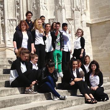 UNSS Danse 2014  aux rencontres académiques à Beauvais