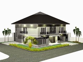 Desain Atap Perisai (Limasan) Rumah Minimalis