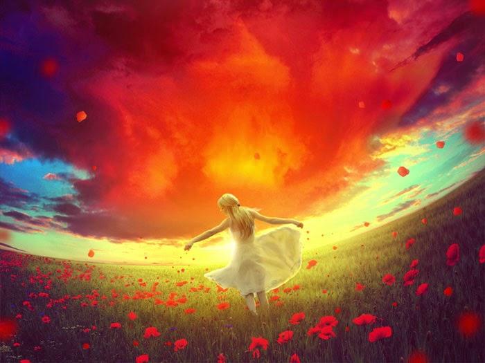 """Red Dream"" Photo Manipulation Tutorial"