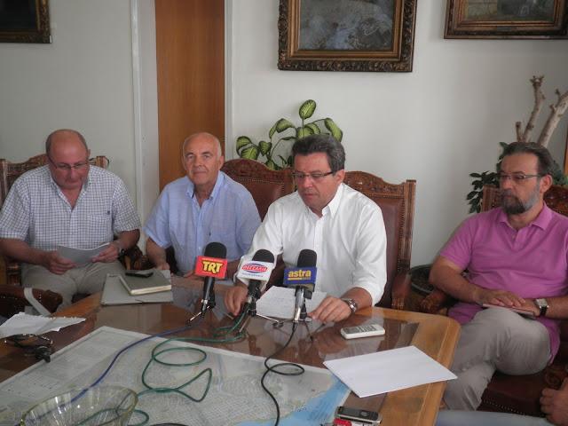 Π.Σκοτινιώτης: Επιδιώκουμε νηφάλιο και  ουσιαστικό διάλογο για το νερό και την αποχέτευση