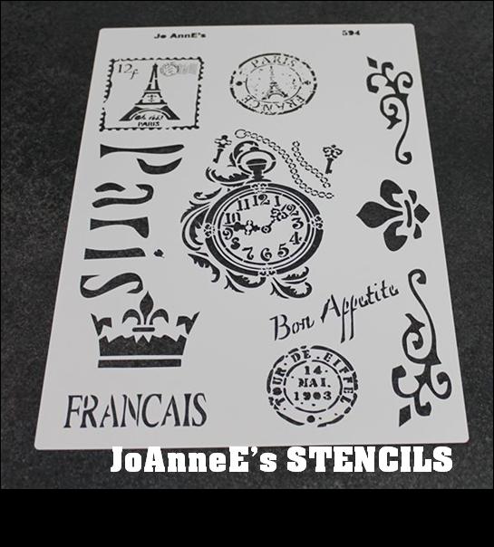 JO-ANNES STENCILS