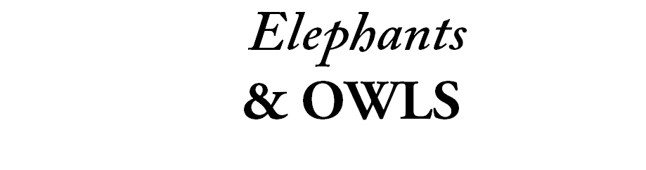 Elephants & Owls