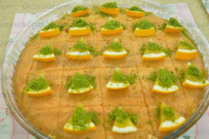 Portakallı Revani Tarifi Kolay Yapımı