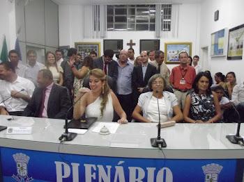 CÂMARA DE VEREADORES DE SERRINHA-BA.PRESIDENTE:EDILENE FERREIRA.