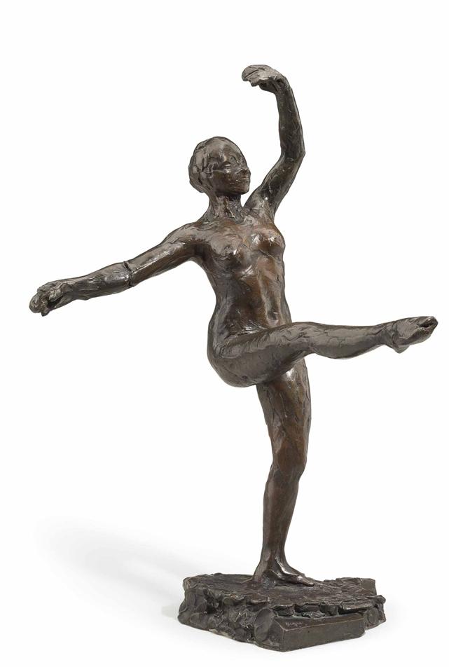 Edgar  Degas  Position  de  quatri C Ame  devant  sur  la  jambe gauche C