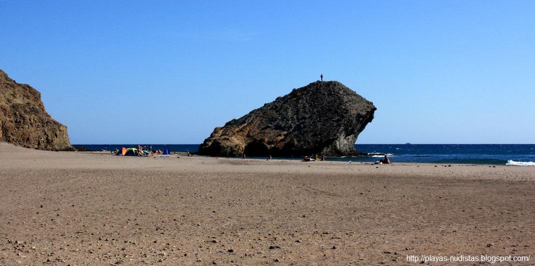 Monsul beach (Cabo de Gata, Almeria, Spain)