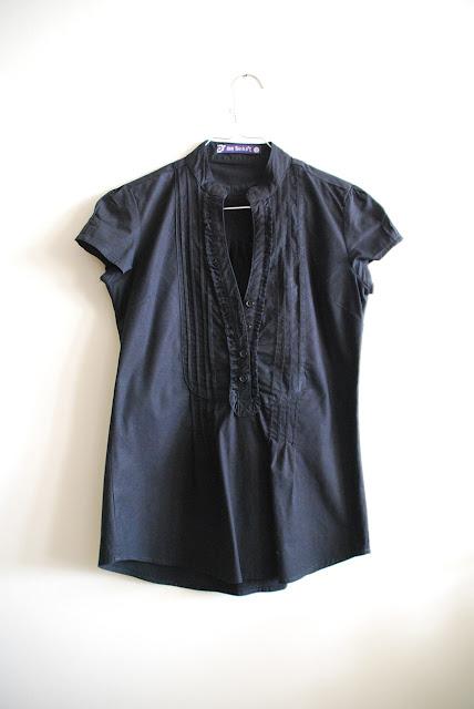 comprar camisa preta zara