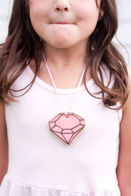 gem cookie necklace