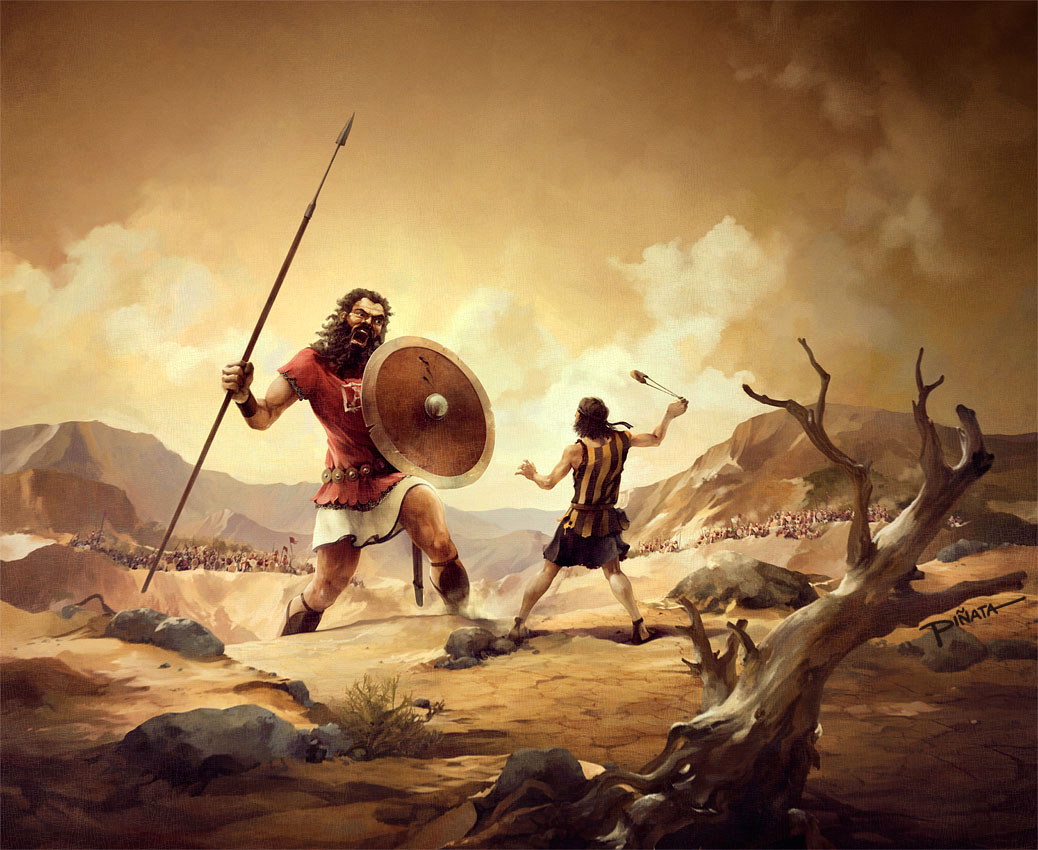 Bible Event : David Defeated Goliath