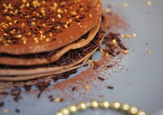 Tarta-crêpe de chocolate - El dulce mundo de Nerea