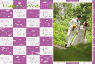 in băng rôn phông nền đám cưới