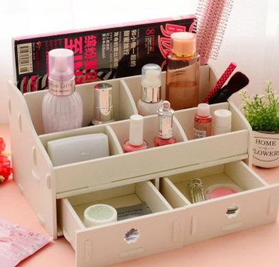Guardar productos de belleza