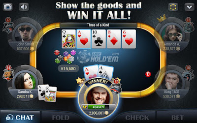 Live Holdem Poker Pro 7.16 Game For Android