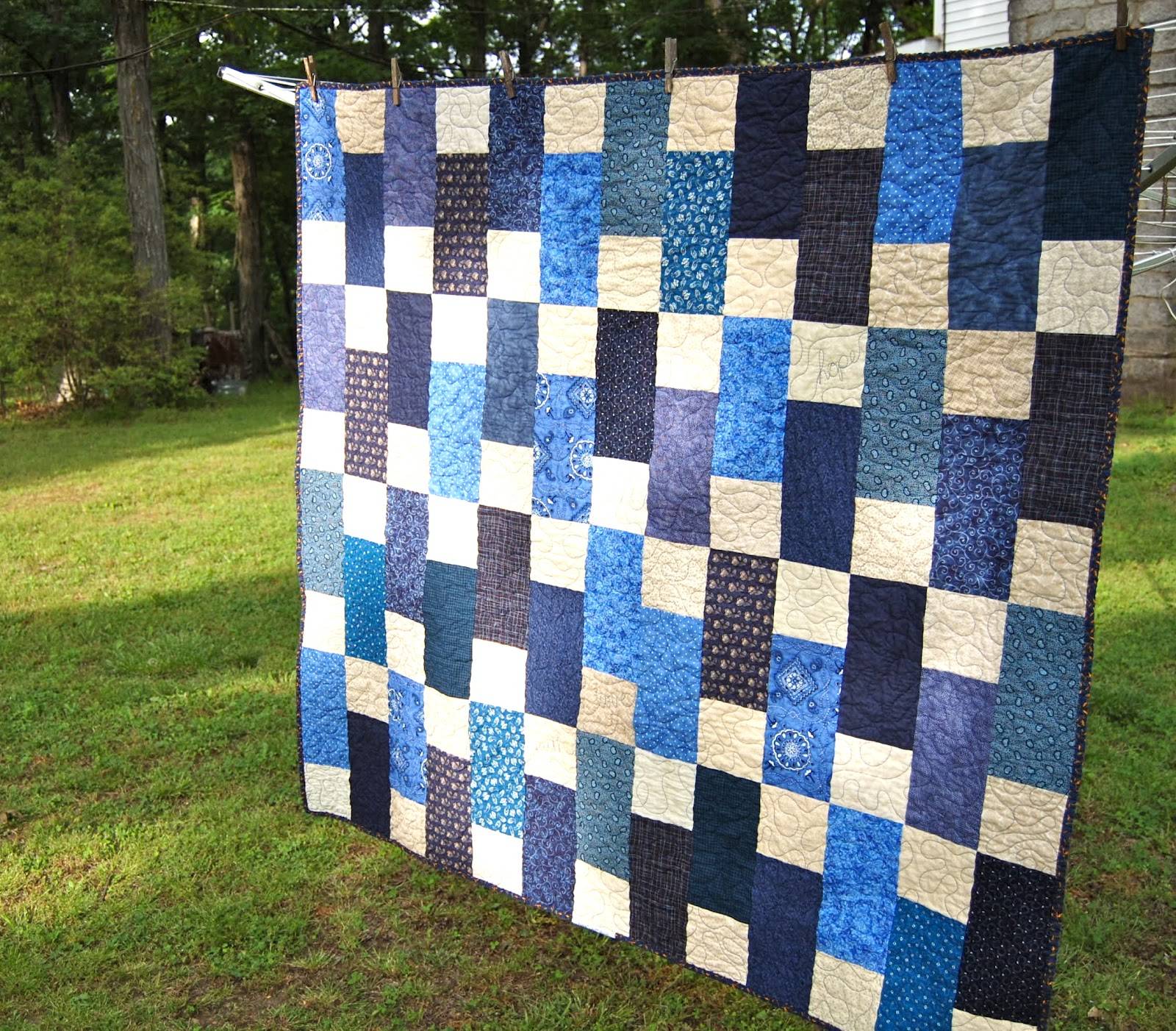 Quilt Patterns For A Man : Confessions of a Fabric Addict: Make-A-List Monday #91! More Done Than I Thought...