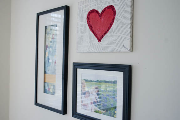 El Yapımı Romantik Duvar Tablosu Adım 10