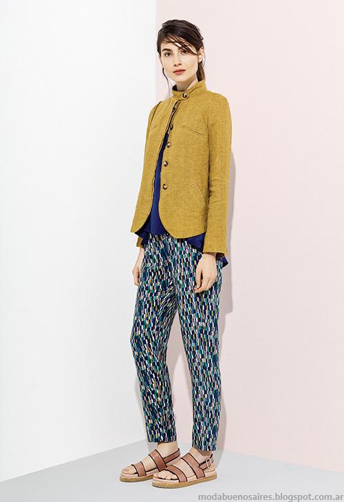 Moda verano 2016 chaquetas y sacos de mujer Graciela Naum. Moda 2016.