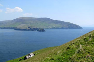Amazing lush green views on Ireland's walking trails